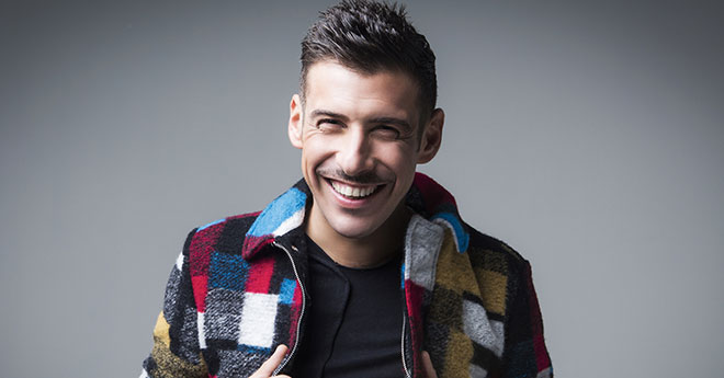 Eurovision 2017 con l'esibizione Francesco Galbani