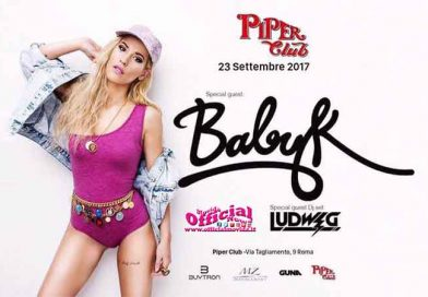 PIPER CLUB ROMA SPECIAL GUEST BABY K