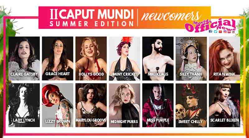 Caput Mundi Summer Edition dal 15 al 17 Giugno al Gay Village