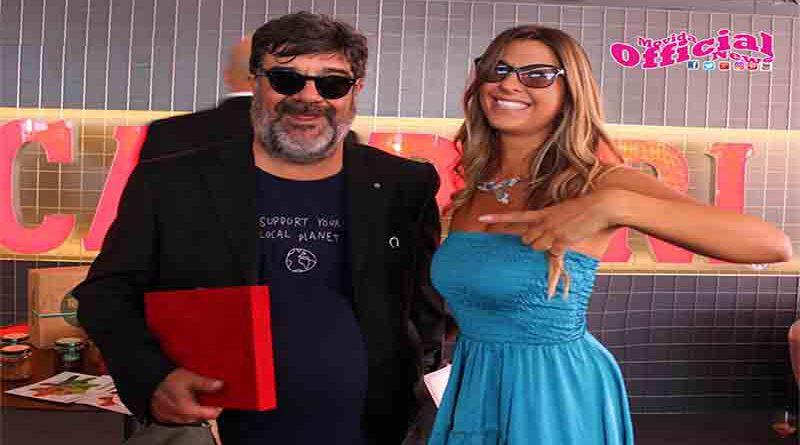 Claudia Conte al Timone del Premio Women Award (WiCA)  e della rubrica daily I colori di Venezia 77 su Fred Film Radio