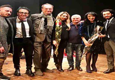 """Lando Buzzanca e Francesca della Valle ospiti d'onore con Alex Baudo ad """"Un Palco per tutti"""" a Roma"""