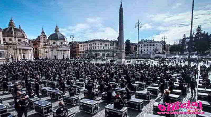 Roma: Bauli in Piazza - 17 Aprile, piazza del Popolo Roma